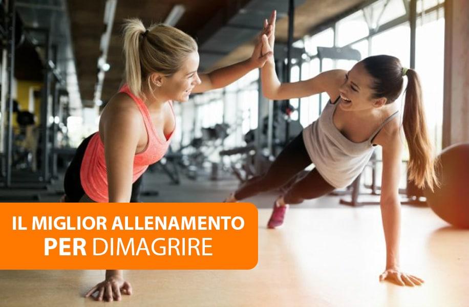 buon allenamento per perdere peso